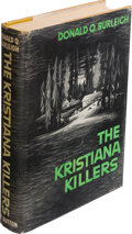 Books:Mystery & Detective Fiction, Donald Q. Burleigh. The Kristiana Killers. New York: Dutton, 1937. First edition. Inscribed by the author on the fro...