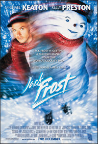 "Jack Frost & Other Lot (Warner Bros., 1998). Rolled, Overall: Very Fine. One Sheets (2) (27"" X 40"") DS Adv..."
