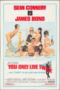"""Movie Posters:James Bond, You Only Live Twice (United Artists, 1967). Fine/Very Fine on Paper. One Sheet (27"""" X 41"""") Style C, Robert McGinnis Artwork...."""