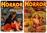 Horror Stories Group of 2 (Popular, 1939-40).... (Total: 2 Items)