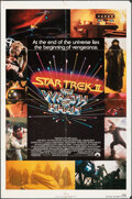 """Movie Posters:Science Fiction, Star Trek II: The Wrath of Khan (Paramount, 1982). Folded, Fine+. One Sheet (27"""" X 41""""). Science Fiction.. ..."""