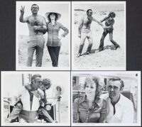 """Diamonds are Forever & Other Lot (United Artists, 1971). Very Fine. Behind-the-Scenes Photos (4) (8"""" X 10""""..."""