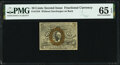 Fractional Currency:Second Issue, Fr. 1244 10¢ Second Issue PMG Gem Uncirculated 65 EPQ.. ...