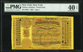 Miscellaneous:Other, New York, NY- Postal Note Type I 1¢ Oct. 13, 1883 PMG Extremely Fine 40 EPQ.. ...