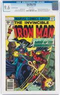 Bronze Age (1970-1979):Superhero, Iron Man #102 35-Cent Price Variant (Marvel, 1977) CGC NM+ 9.6 White pages....
