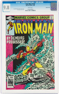 Iron Man #130 Western Penn Pedigree (Marvel, 1980) CGC NM/MT 9.8 White pages