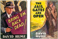 """Books:Mystery & Detective Fiction, David Hume. Pair of """"Cardby"""" Mysteries. New York and London: D. Appleton-Century Co., 1935. First editions.... (Total: 2 Items)"""