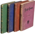 Books:Mystery & Detective Fiction, [Various Authors]. Lot of Four First or Early American Editions. [Various places, various publishers], 1872-1875. ... (Total: 4 Items)