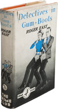 Books:Mystery & Detective Fiction, Roger East. Detectives in Gum-Boots. London: Crime Club, [1936]. First edition. ...