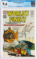 Silver Age (1956-1969):Superhero, World's Finest Comics #129 (DC, 1962) CGC NM+ 9.6 White pages....