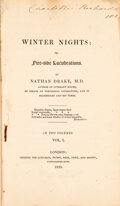 Books:Mystery & Detective Fiction, Nathan Drake. Winter Nights. London: Longman, Hurst, 1820. First edition.... (Total: 2 Items)
