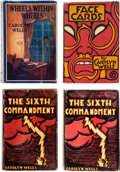 Books:Mystery & Detective Fiction, Carolyn Wells. Lot of Four First Editions. New York: [various publishers], 1923- 1927. ... (Total: 4 Items)