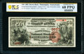 Philadelphia, PA - $50 1882 Brown Back Fr. 510 The Fourth Street National Bank Ch. # 3557 PCGS Banknote