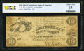 Confederate Notes:1861 Issues, T27 $10 1861 PF-1 Cr. 221 PCGS Banknote Choice Fine 15.. ...