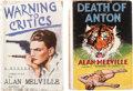 Books:Mystery & Detective Fiction, Alan Melville. Pair of Murder Mysteries. London: Skeffington & Con, Ltd., [N.D. but ca. 1936]. Presumed first editions.... (Total: 2 Items)