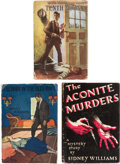 Books:Mystery & Detective Fiction, Sidney Williams. Group of Three Murder Mysteries. Philadelphia and New York: Penn Pub. Co.; Dodd, Mead & Co., 1922-1936. Fir... (Total: 3 Items)