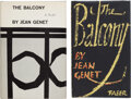 Books:Mystery & Detective Fiction, Jean Genet. Two Copies of The Balcony. London and New York: various publisher's, [1958].... (Total: 2 Items)