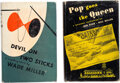 Books:Mystery & Detective Fiction, Bob Wade and Bill Miller. Lot of Two First Editions. New York: Farrar, Straus, 1947-1949. Each title inscribed or signed by ... (Total: 2 Items)