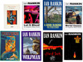 Books:Mystery & Detective Fiction, Ian Rankin. Lot of Eight First Editions. Edinburgh and London: [various publishers], 1986-1995. ... (Total: 8 Items)
