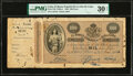 World Currency, Cuba Banco Espanol De La Isla De Cuba 1000 Pesos 15.5.1896 Pick 51B PMG Very Fine 30 Net.. ...