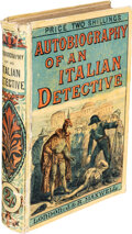 Books:Mystery & Detective Fiction, Anonymous. Autobiography of an Italian Detective. London: J. and R. Maxwell, [no date but circa 1880]. Presumed Firs...