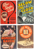 """Books:Mystery & Detective Fiction, J. V. Turner [David Hume, pseudonym]. Group of Four """"Inspector Ripple and Amos Petrie"""" Mysteries. New York: various publishe... (Total: 4 Items)"""