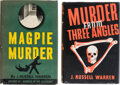 Books:Mystery & Detective Fiction, J. Russell Warren. Pair of Murder Mysteries. New York: various publishers, [1939]-[1942].... (Total: 2 Items)