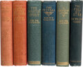 Books:Mystery & Detective Fiction, Sir William Magnay. Lot of Six First Editions. London: [various publishers], 1897-1908. One is inscribed by the author. ... (Total: 6 Items)