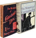 Books:Mystery & Detective Fiction, Barry Pain. The Memoirs of Constantine Dix. London: T. Fisher Unwin, 1905. First editions (two copies, one in wrappe... (Total: 2 Items)