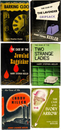 Books:Mystery & Detective Fiction, Harry Stephen Keeler. Lot of Six First American Editions. New York: Phoenix Press, 1943-1948.... (Total: 6 Items)