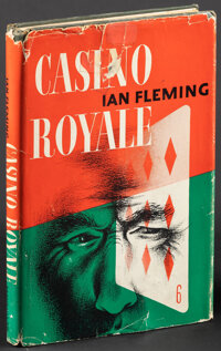 Casino Royale by Ian Fleming (Macmillan, 1954). Fine/Very Fine. First U.S. Edition Hardcover Book (Multiple Pages) Leo M...