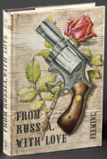 """Movie Posters:James Bond, From Russia with Love by Ian Fleming (Jonathan Cape, R-1981). Very Fine-. British Hardcover Book (253 Pages, 5"""" X 7.75"""") Ric..."""