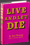 "Movie Posters:James Bond, Live and Let Die by Ian Fleming (Jonathan Cape, R-1982). Very Fine-. British Hardcover Book (240 Pages, 5.25"" X 7.5""). James..."