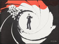 "Movie Posters:James Bond, James Bond (Larry Green Productions, 1981). Rolled, Very Fine-. Promotional Poster (30.5"" X 23""). James Bond.. ..."