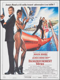 "Movie Posters:James Bond, A View to a Kill (Cineposter/United Artists, 1985). Folded, Very Fine. French Commercial Petite (15.25"" X 20.5"") & Ad Slicks... (Total: 4 Items)"