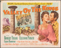 """Movie Posters:Adventure, Valley of the Kings (MGM, 1954). Folded, Fine+. Half Sheets (2) (22"""" X 28"""") Styles A & B. Adventure.. ... (Total: 2 Items)"""