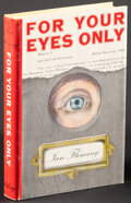 """Movie Posters:James Bond, For Your Eyes Only by Ian Fleming (Viking Press, 1960). Very Fine-. First U.S. Edition Hardcover Book (218 Pages, 8.75"""" X 8...."""