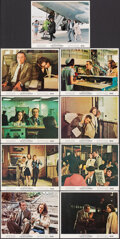 "Movie Posters:Comedy, The Out-of-Towners (Paramount, 1970). Overall: Very Fine-. Mini Lobby Cards (9) (8"" X 10"") & Uncut Pressbook (6 Pages, 12.25..."