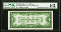 Error Notes:Inverted Reverses, Inverted Back Error Fr. 1606 $1 1934 Silver Certificate. PMG Choice Uncirculated 63.. ...