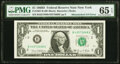 Error Notes:Mismatched Serial Numbers, Mismatched Serial Number Error Fr. 1907-B $1 1969D Federal Reserve Note. PMG Gem Uncirculated 65 EPQ.. ...