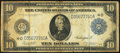 Large Size:Federal Reserve Notes, Fr. 919a $10 1914 Federal Reserve Note Fine.. ...
