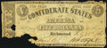 Confederate Notes:1861 Issues, T12 $5 1861 Fair.. ...