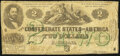Confederate Notes:1862 Issues, T43 $2 1862 Fine.. ...