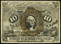 Fr. 1249 10¢ Second Issue About New