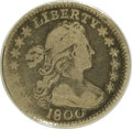 Early Half Dimes: , 1800 H10C VG8 ANACS. LM-1. NGC Census: (0/174). PCGS Population(6/215). Mintage: 40,000. Numismedia Wsl. Price: $479. (#42...