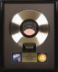 "Music Memorabilia:Awards, Dokken ""Tooth and Nail"" RIAA Gold Album Award. Presented to SueSatriano by the RIAA to commemorate the sale of 500,000 copi..."