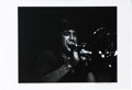 "Music Memorabilia:Photos, Chicago - James Pankow Limited Edition Concert Photo. A b&w 19""x 13"" photo of Chicago trombonist James Pankow during a live..."