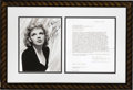 Movie/TV Memorabilia:Autographs and Signed Items, Judy Garland Signed Contract. A single-page agreement, dated January 12, 1962, engaging Garland to appear in the movie The...