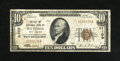 National Bank Notes:West Virginia, Bluefield, WV - $10 1929 Ty. 1 The Bluefield NB Ch. # 11109. Here is one of the great bank titles in National collecting...