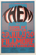 Music Memorabilia:Posters, Bill Graham Presents Fillmore Concert Poster Group (Bill Graham,1966-67). Three groovy concert posters from the Golden Age ...(Total: 3 )